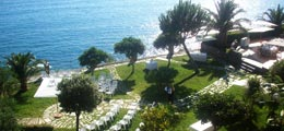 Large park in the amazing frame of the Gulf of Policastro